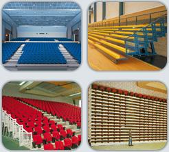 podis escenaris graderies i tribunes d 39 interior i. Black Bedroom Furniture Sets. Home Design Ideas